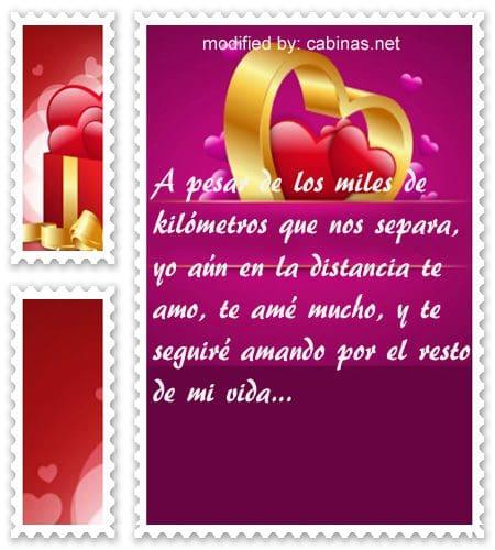 Mensajes Romanticos Para Decir Te Extrano Amor Con Imagenes