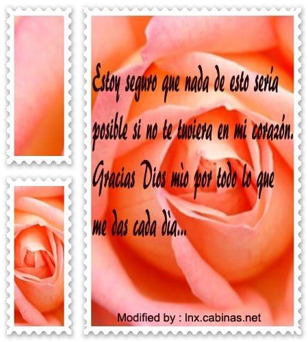 Originales Mensajes De Agradecimiento A Dios Cabinasnet