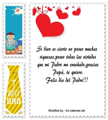 Mensajes Para Mi Papá Frases Para Dia Del Padre Cabinasnet