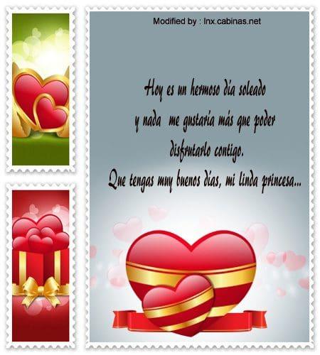textos de buenos dias para mi amor,dedicatorias de buenos dias para mi amor