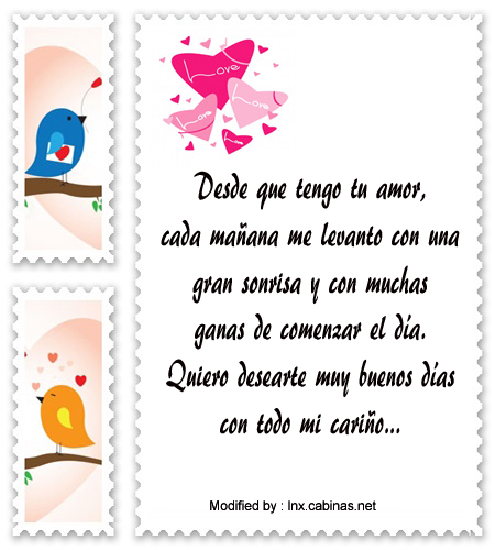 Enviar Mensajes De Buenos Dias Para Mi Amor Cabinas Net