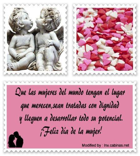 Mensajes Bonitos Para El Día De La Mujer Frases Para El