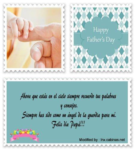 Mensajes Por El Día Del Padre Que Ha Fallecido Saludos Por