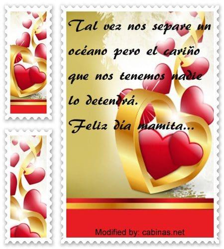 Mensajes De Amor Para Mi Madre Que Esta Lejos Con Imagenes Cabinas Net