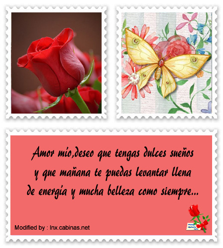 Lindos Mensajes De Buenas Noches Para Mi Enamorada Frases De