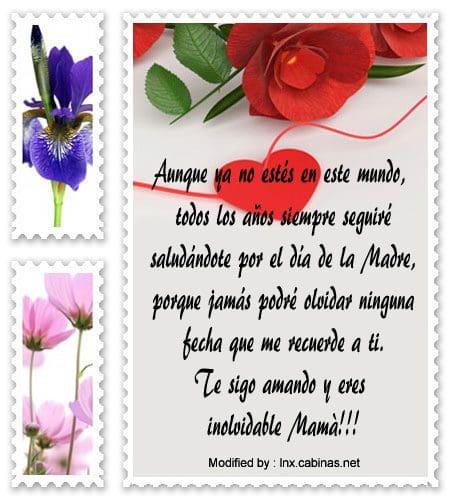 Palabras Para Madres Fallecidas Recordatorios Para Madres