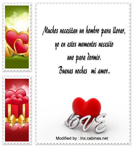 Bonitos Mensajes Y Tarjetas De Buenas Noches Para Mi Amor