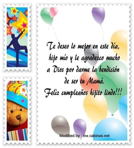 Lindos Mensajes De Cumpleaños Para Un Hijo Saludos De