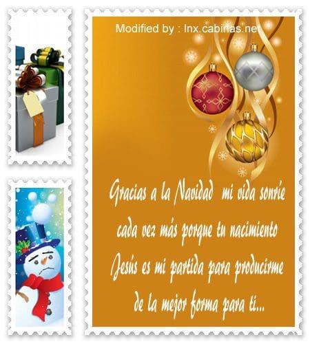 palabras de Navidad,pensamientos de Navidad