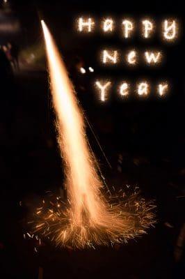 lindas palabras de Año Nuevo, ejemplos de mensajes de Año Nuevo