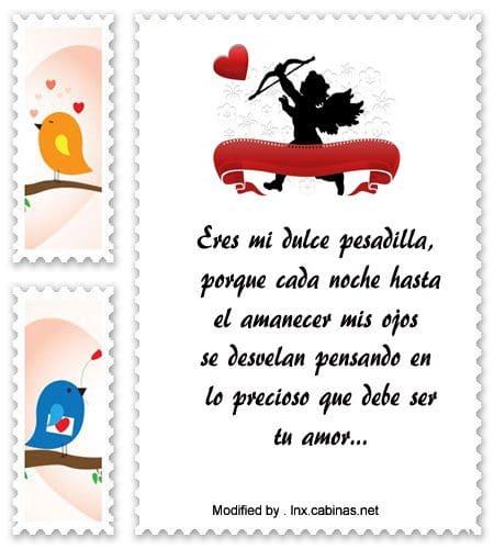 frases y mensajes románticos,enviar originales mensajes de amor