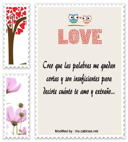 Nuevos Mensajes De Amor Para Mi Novia Que Extrano Bajar Frases De