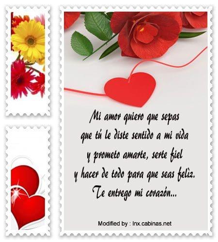 Lindos Mensajes De Amor Para Votos De Matrimonio Frases Para Mis