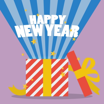 Saludos De Año Nuevo | Tarjetas de año nuevo